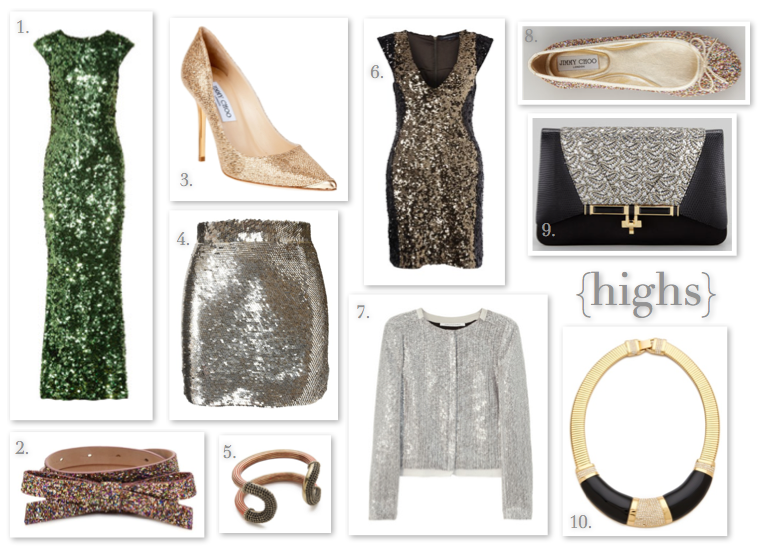 all that glitters: highs