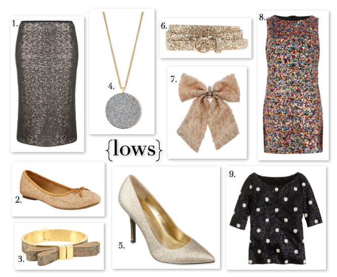 all that glitters: lows
