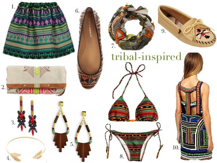 tribal-inspired