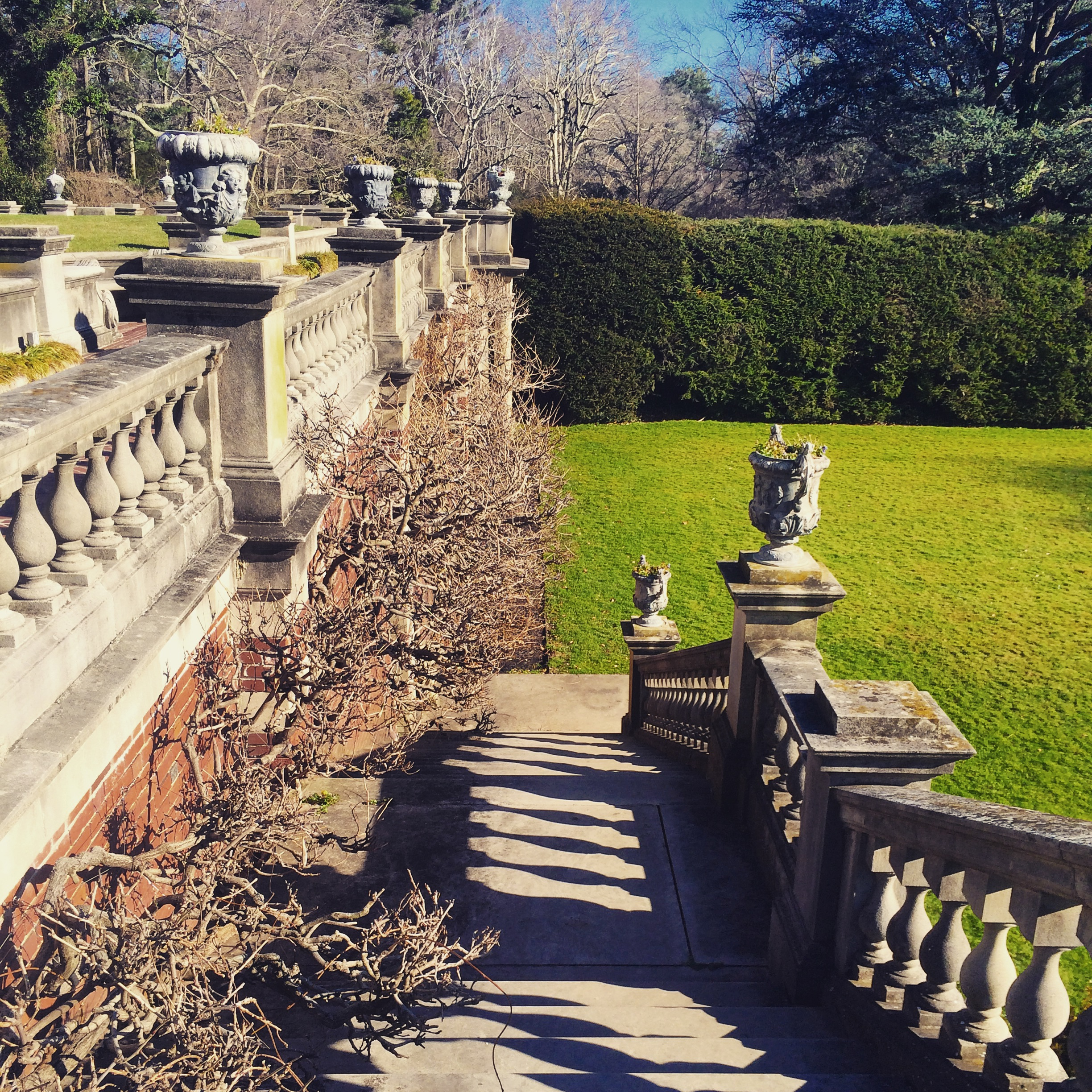 Westbury Gardens Winter: All Things Pretty Under The Sun